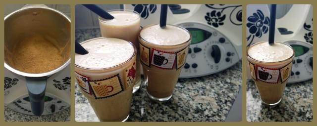 Collage Eiskaffee
