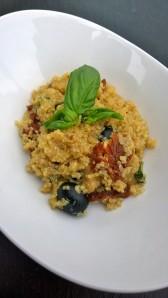 Quinoa Risotte provençale