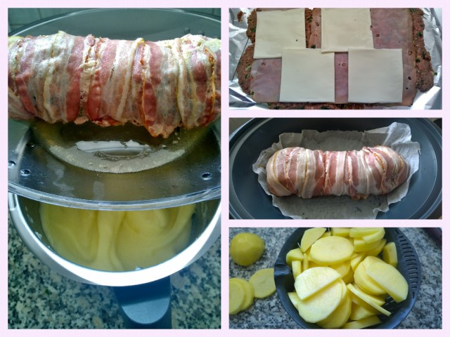 Collage Hackbraten & Stocki