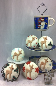 Rudolph Cupcakes copyright 1