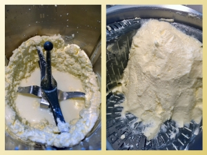 Butter making of