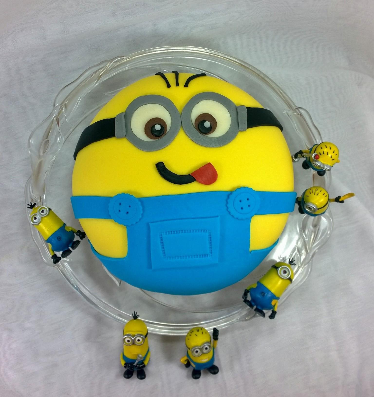 Minions Cake Merli Ch