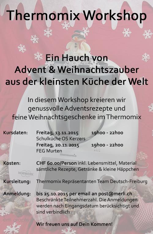 Weihnacht Kursauschreibung 2015