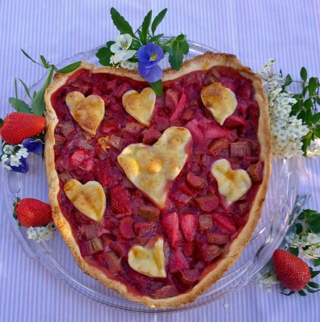 Erdbeer-Rhabarber Tarte (3)