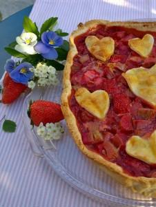 Erdbeer-Rhabarber Tarte (4)