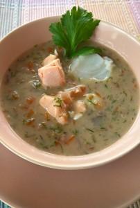 Fischsuppe mit Bulgur (1)