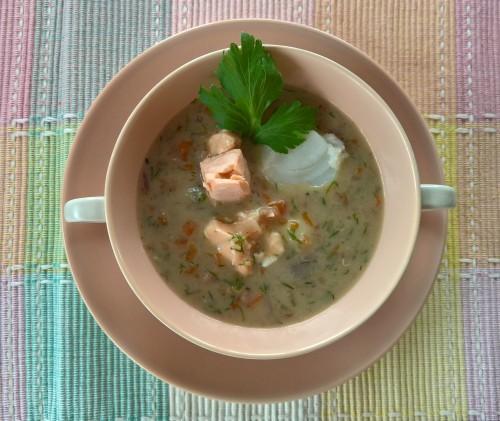 Fischsuppe mit Bulgur (2)