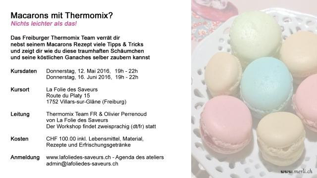 Macarons Kurs Freiburg definitiv 2016