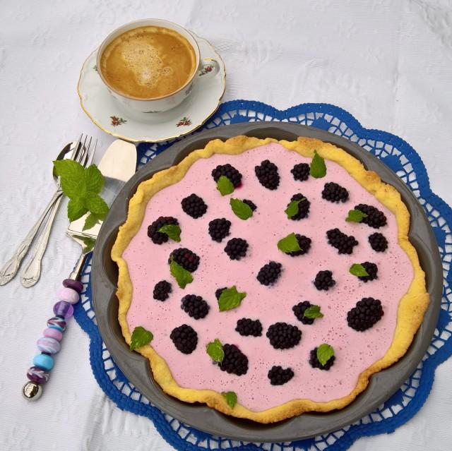 Brombeer Joghurt Tarte (6)