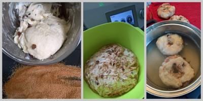 Collage Bagel Zubereitung_2